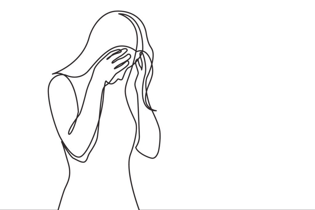 gestresste Frau Verhaltenstherapie