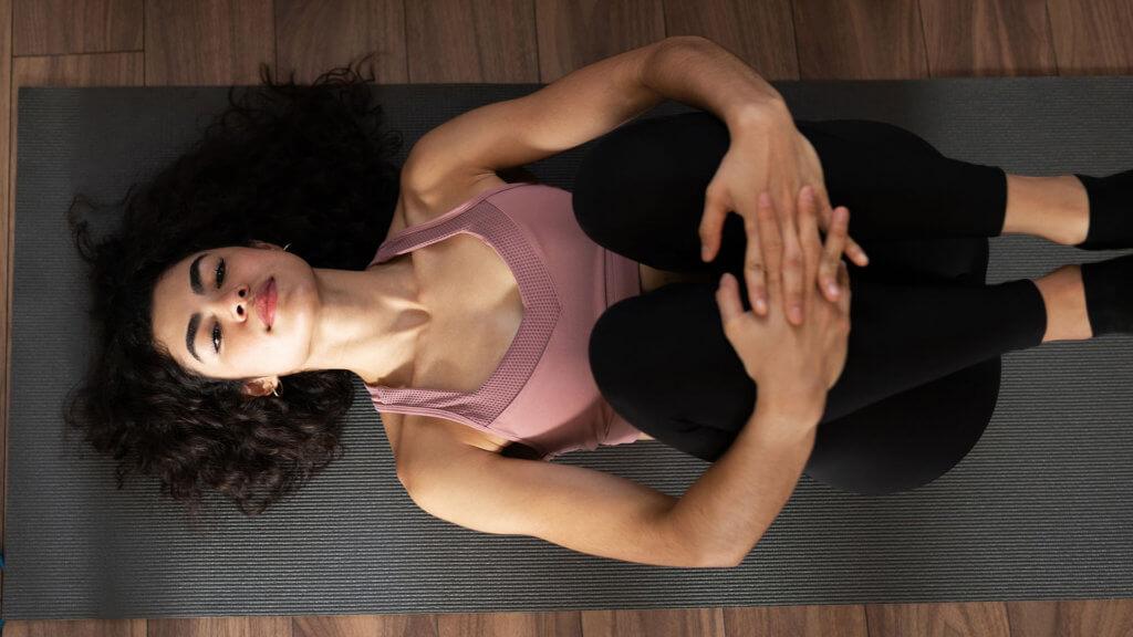 Baby Position gegen Rückenschmerzen